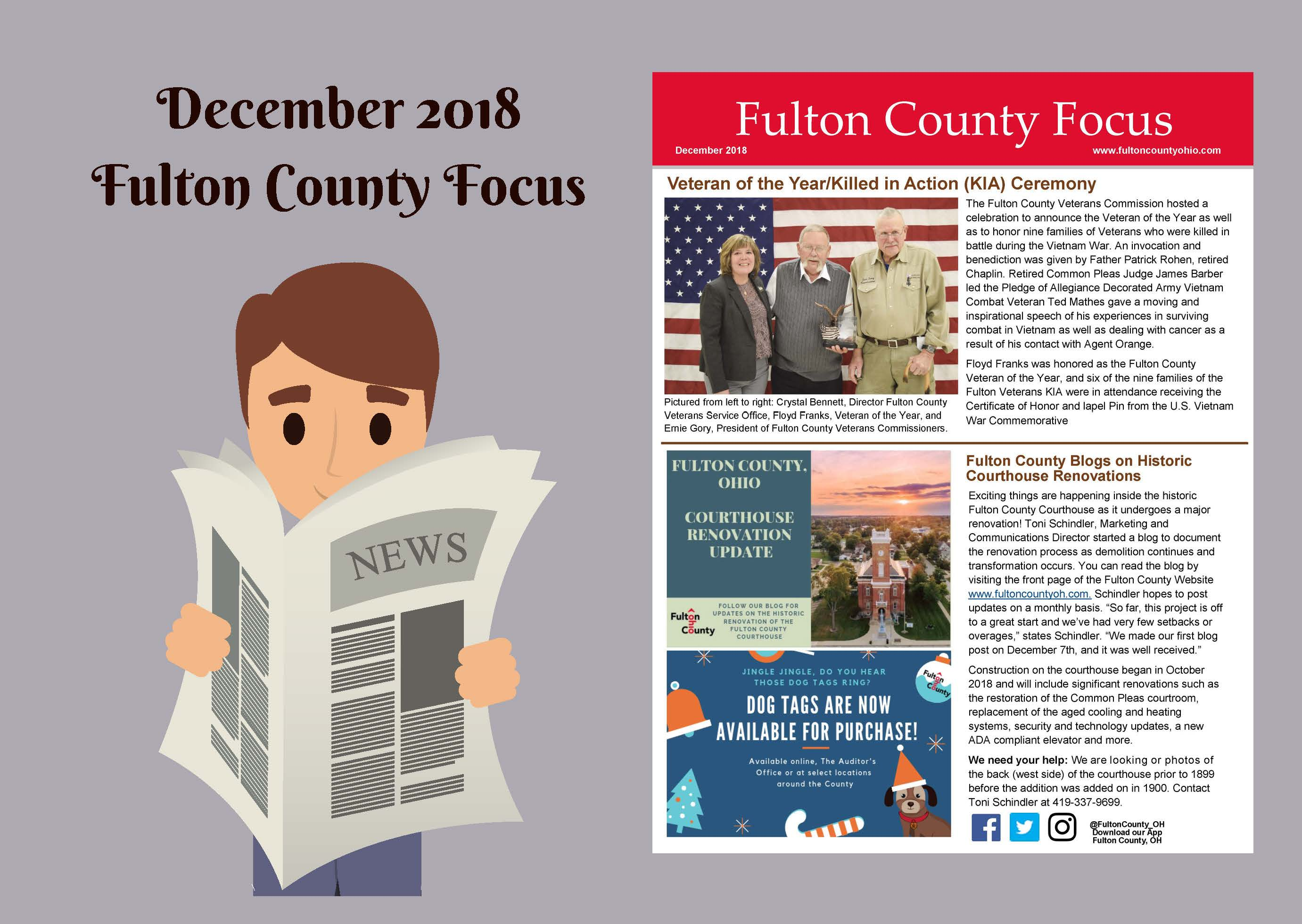 Website Image for the December 2018 Fulton County Focus