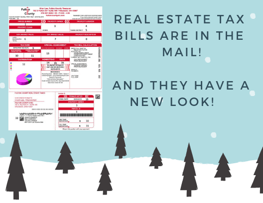 Real Estate Tax Bills Image for Website