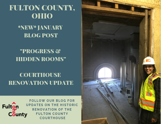 Fulton County Courthouse Renovation Updates January 2019 &#34Progress and Hidden Rooms&#34