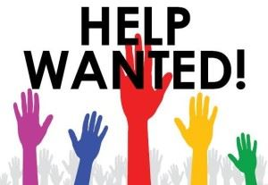 hands up help wanted