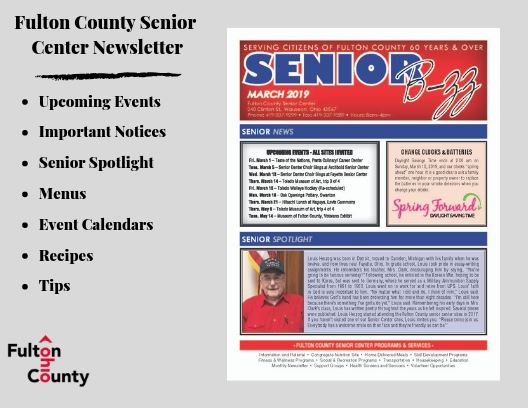 Website Graphic for the March 2019 Senior B-zz
