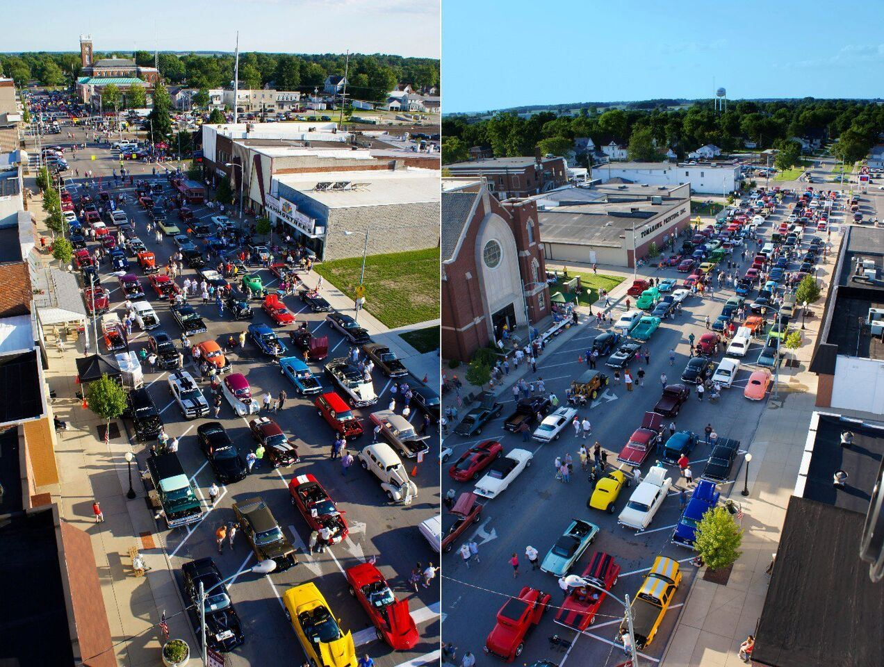 Wauseon Cruise In Opener, Downtown Wauseon, OH, May 7th from 6 PM to 8 PM