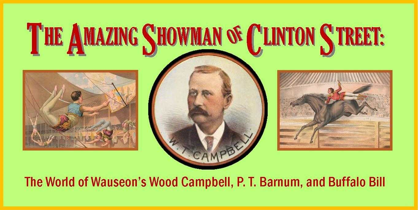 The Amazing Showman of Clinton St.  Interactive exhibit at the Museum of Fulton County