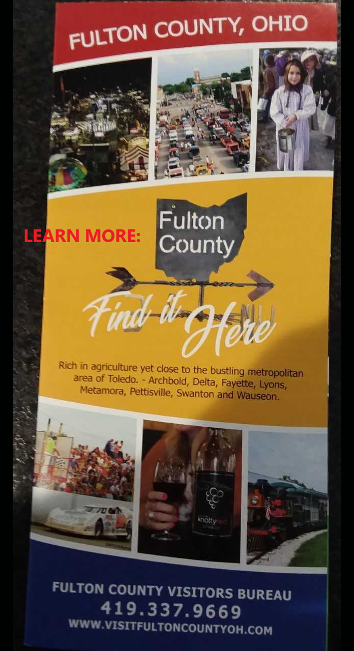 On the Trails in Fulton County, There is much to discover.  Click for more info!