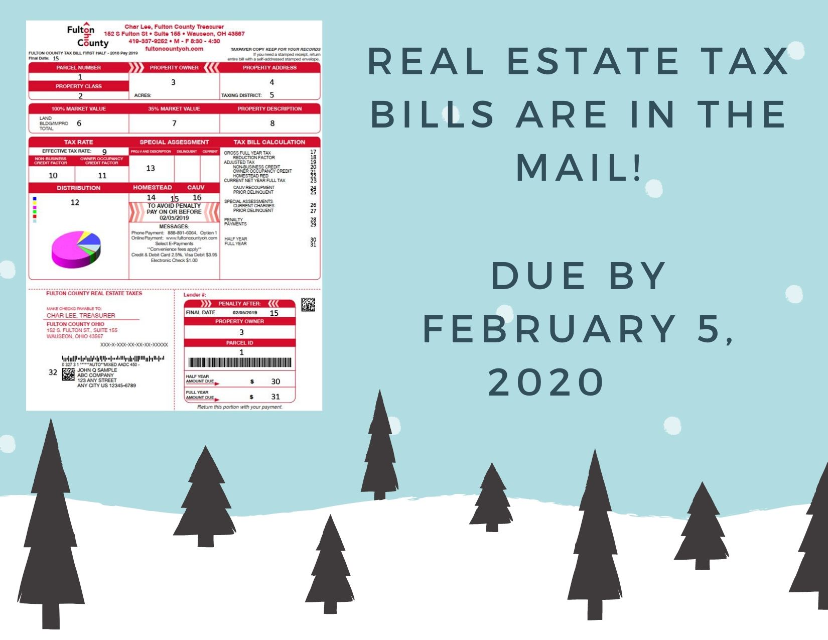 Real Estate Tax Bills