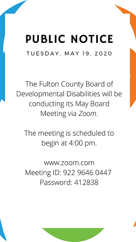 PUBLIC NOTICE May 2020 bd mtg FB