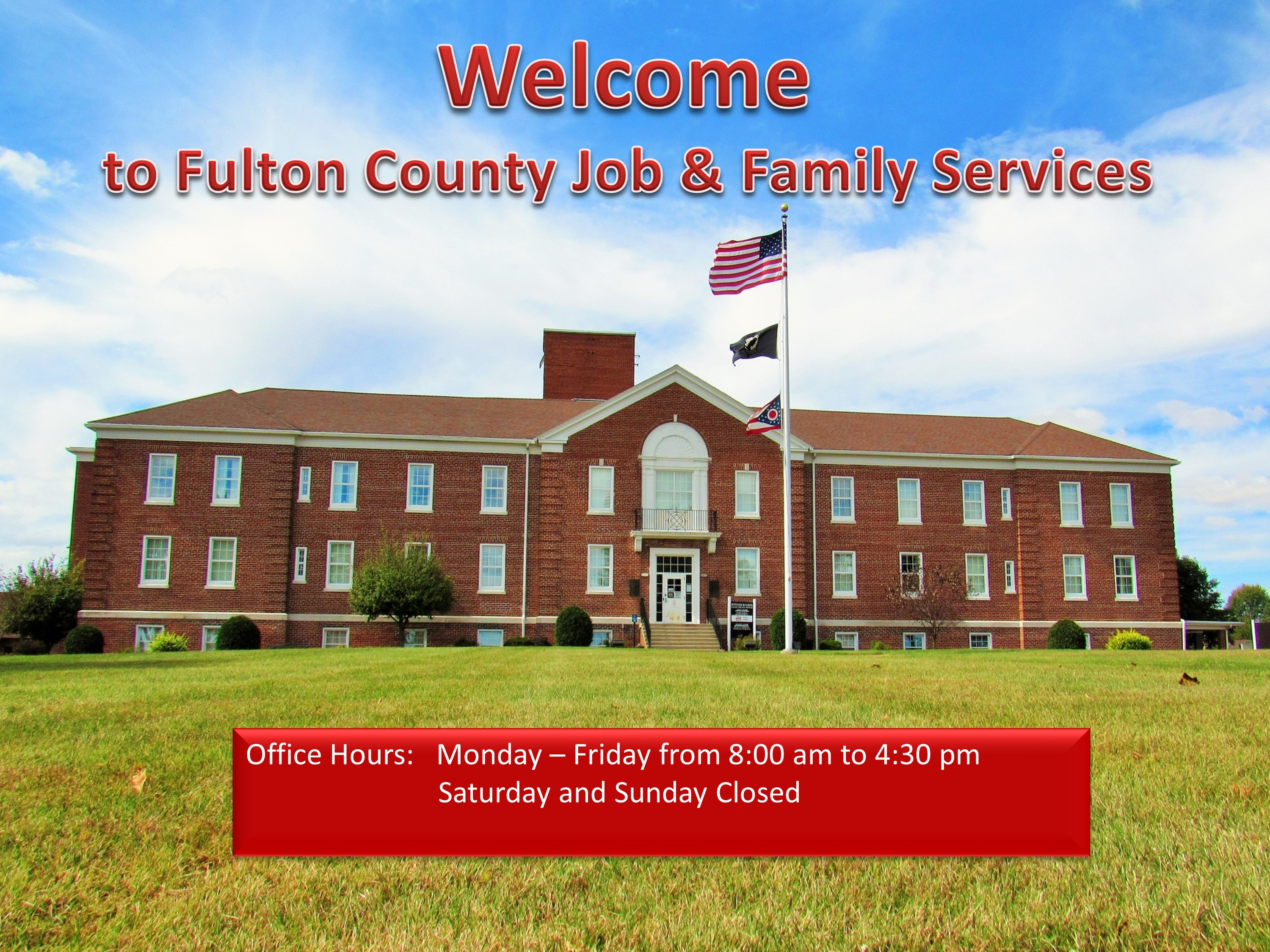 Welcome To Fulton County Job And Family Services