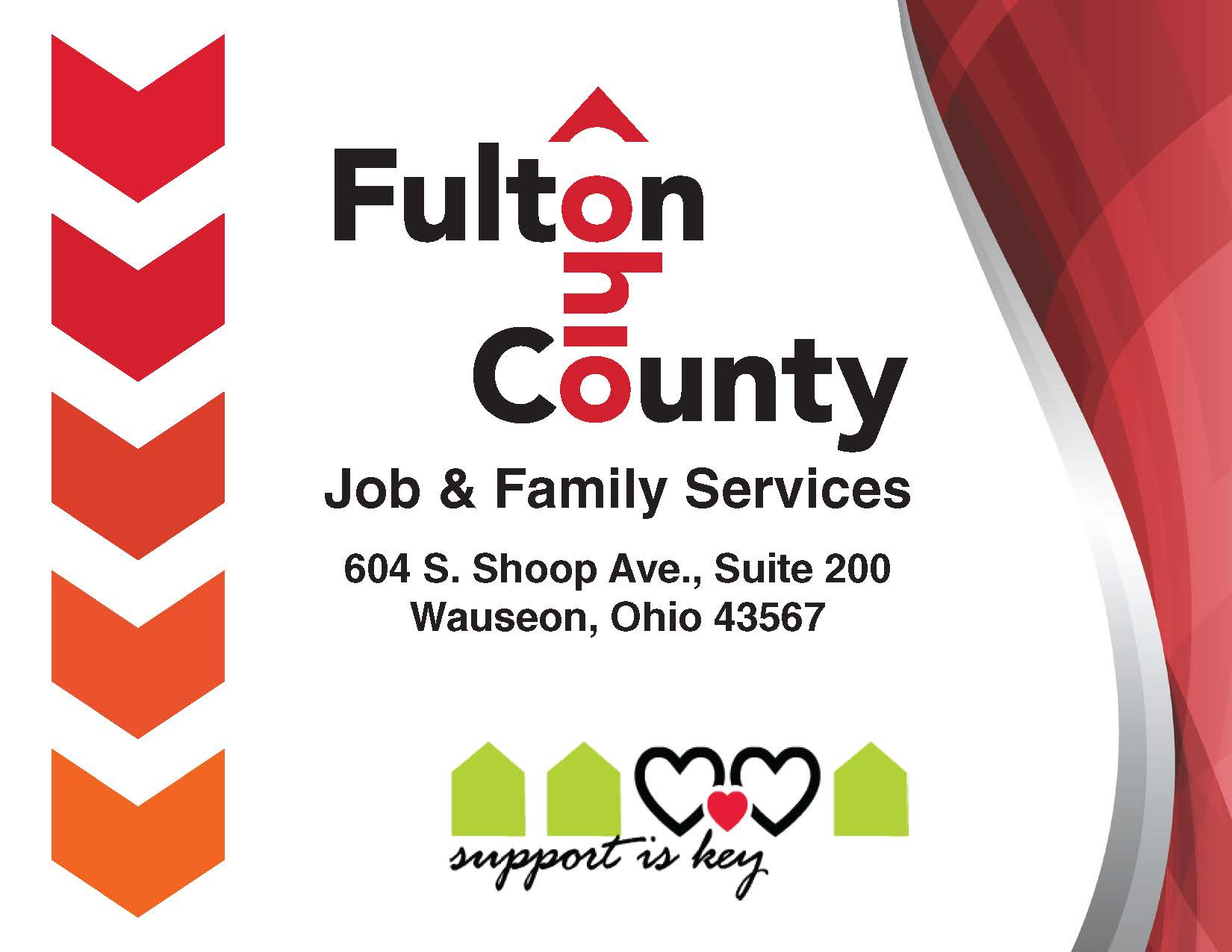 Fulton County Job Family Services Public Assistance