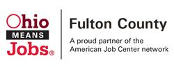 Fulton County OhioMeansJobs logo