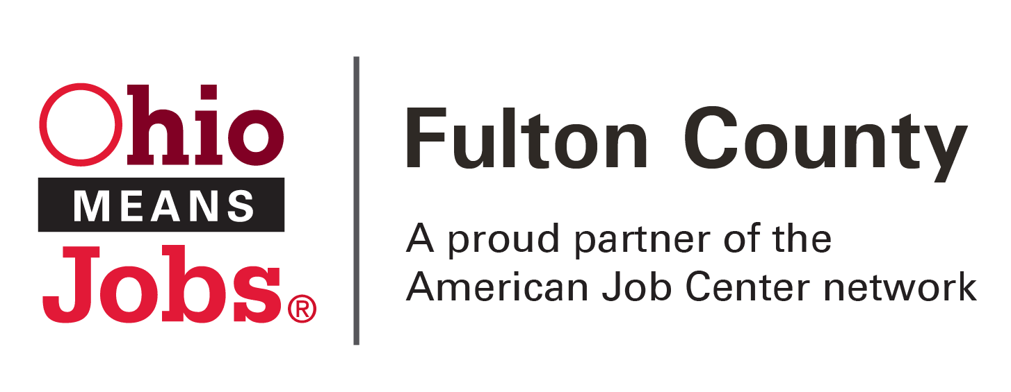 OhioMeansJobs|Fulton County logo