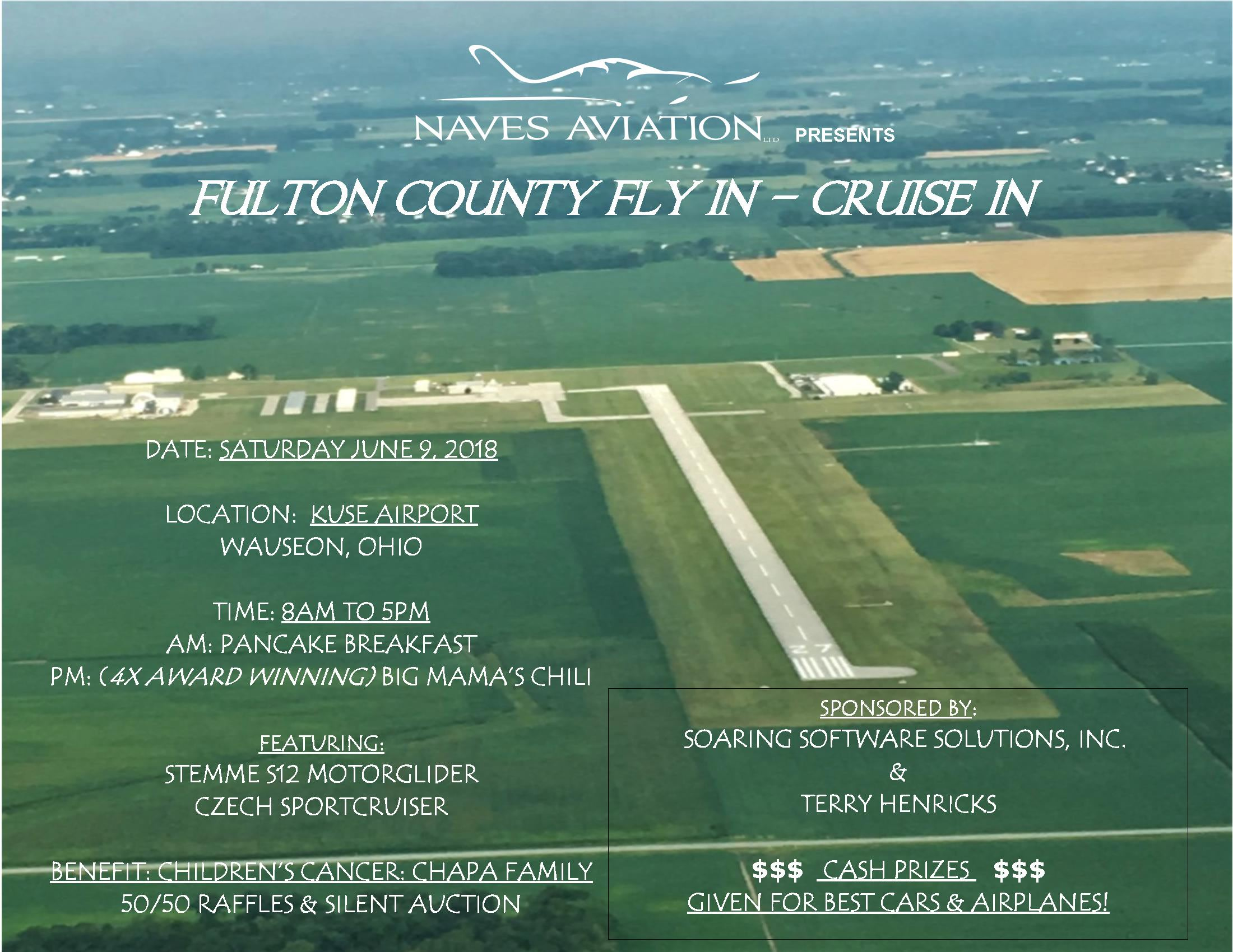 Fulton County Airport Fly-In June 9th