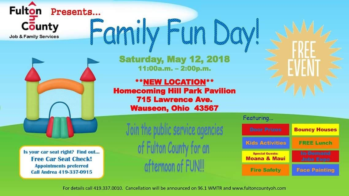 family fun day @ homecoming Park