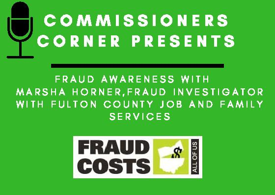 Fraud Awareness Comissioners Corner Promo