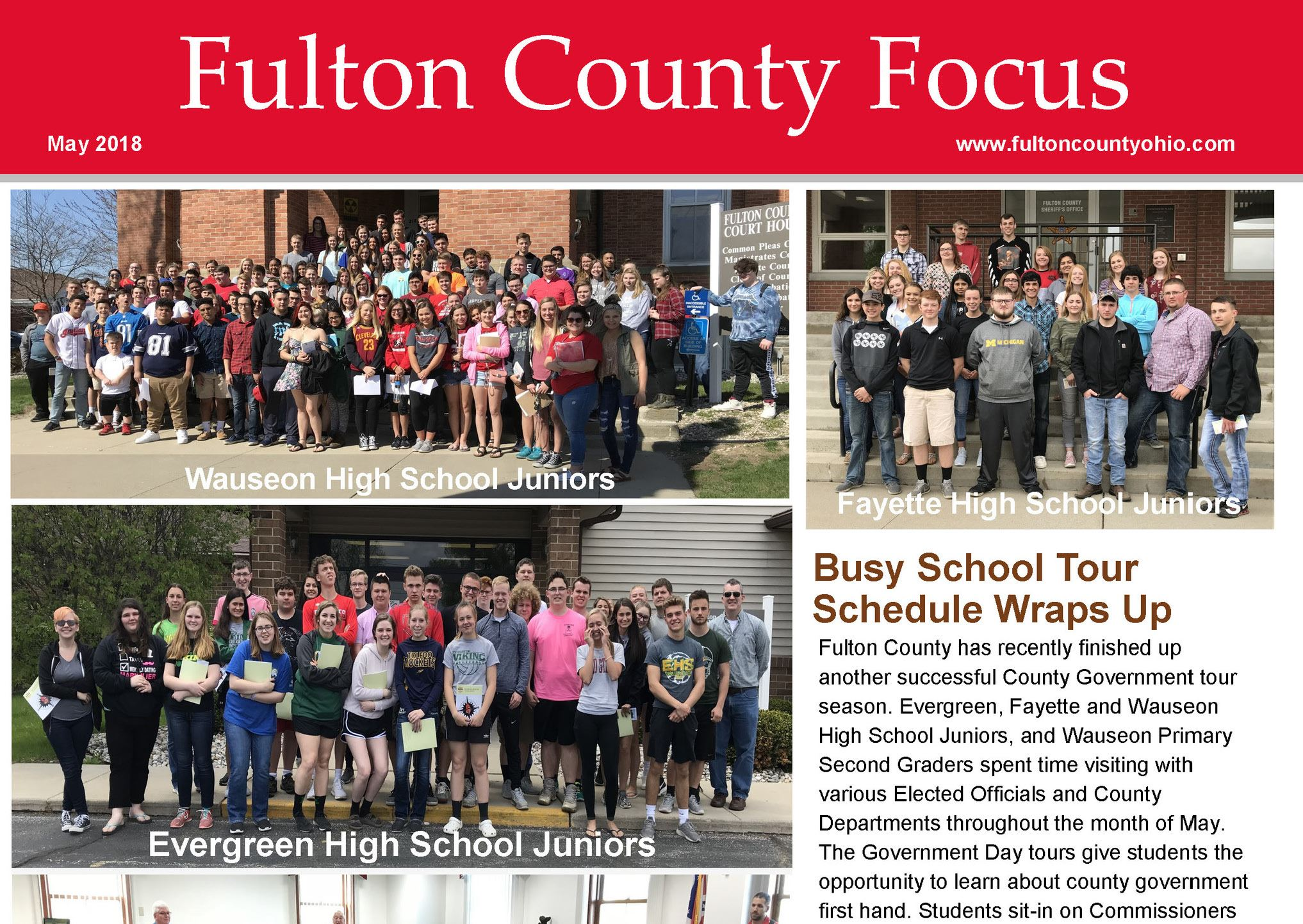 Fulton County Focus May 2018 Edition Promotional Flyer