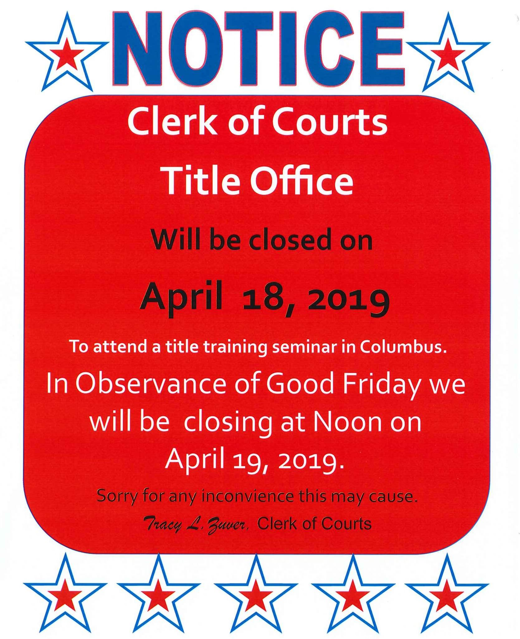 Clerk of Courts | Fulton County, OH - Official Website
