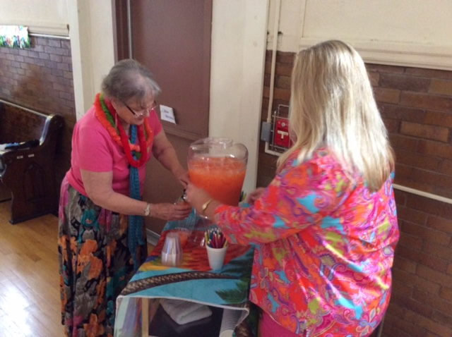 2015 photo luau marty ross punch