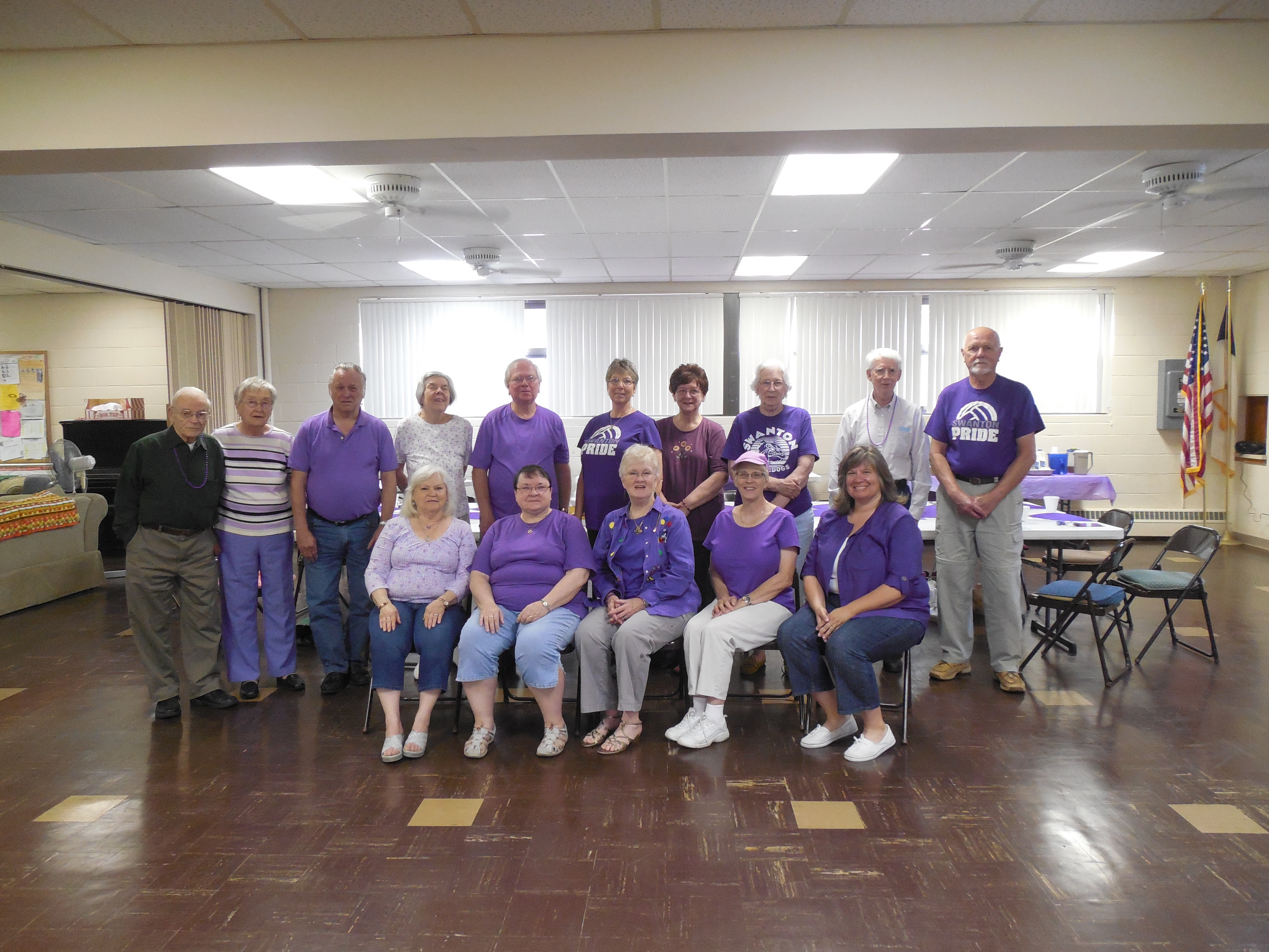 photo 2015 wear purple for Elder Abuse Awareness D