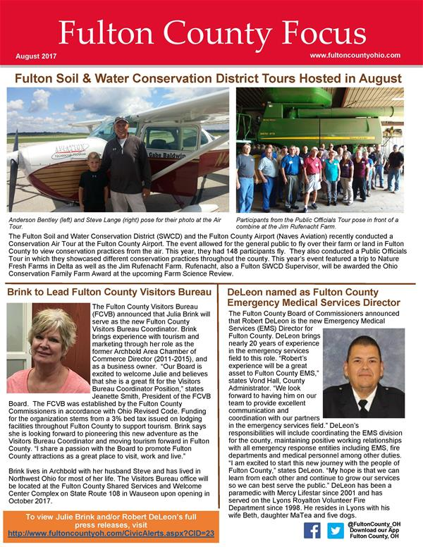 August 2017 Fulton County Focus